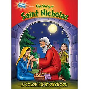 Colouring Book The Story of Saint Nicholas