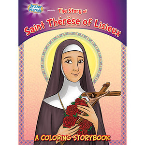 Colouring Book St. Therese of Lisieux