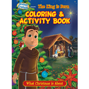 Colouring Book O Holy Night-The King is Born