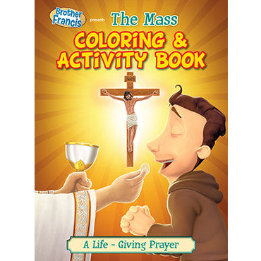 Colouring Book The Mass