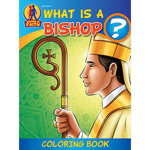 Colouring Book What is a Bishop?