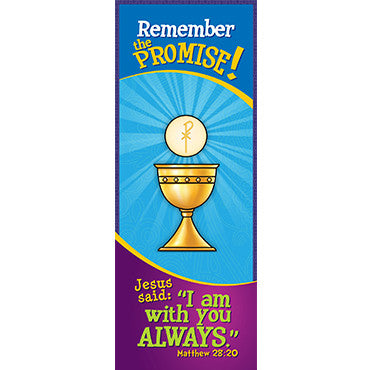 Bookmark - Remember the Promise! I Am With You Always...Matthew 28:20 (Pack of 25)