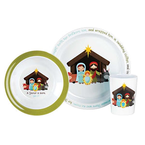 Nativity Dish Set