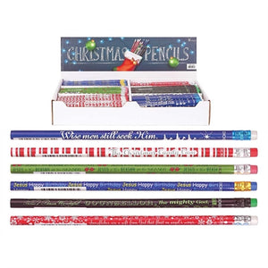 Christmas Pencils - Assorted Designs