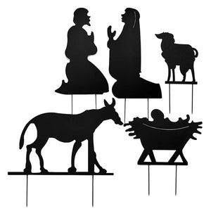 Yard Sign - Nativity Silhouette