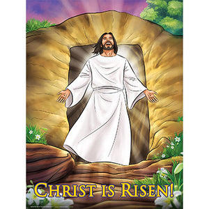 Poster - Christ is Risen 18x24