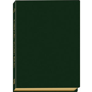 The Catholic Youth Bible NABRE (Green Leatherette)