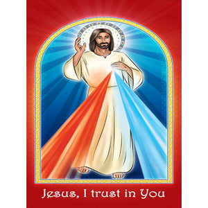 Prayer Card - Divine Mercy (Pack of 25)