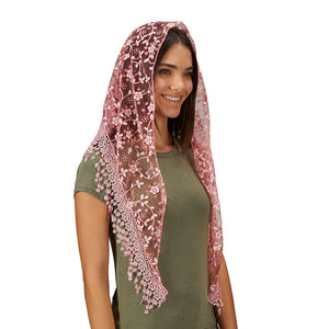 Chapel Veil - with Tassels
