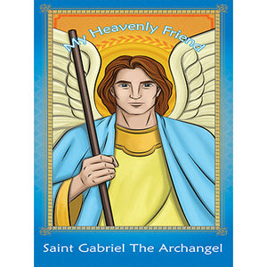 Prayer Card - Saint Gabriel the Archangel (Pack of 25)