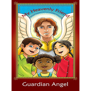 Prayer Card - Guardian Angel (Pack of 25)