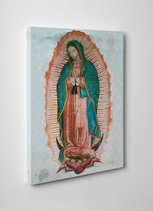 Our Lady of Guadalupe Gallery Wrapped Canvas - 12x18