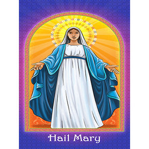 Prayer Card - Hail Mary (Pack of 25)