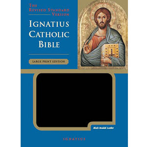 Ignatius Bible RSV-CE Large Print Edition