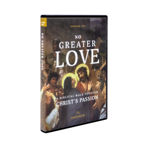 No Greater Love; A Biblical Walk Through Christ's Passion --DVD set