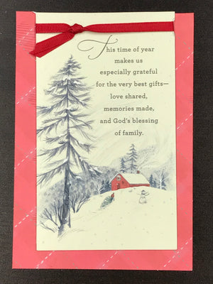 Christmas Card - Brother