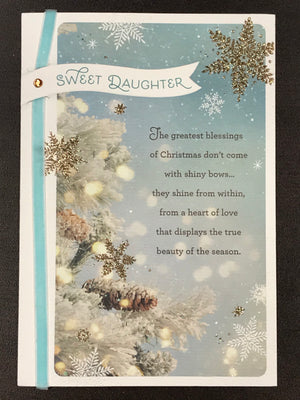 Christmas Card - Daughter