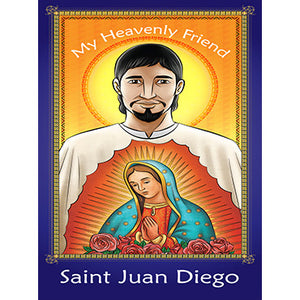 Prayer Card - Saint Juan Diego (Pack of 25)