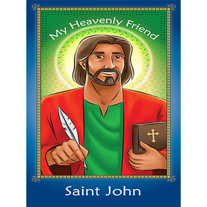 Prayer Card - Saint John (Pack of 25)