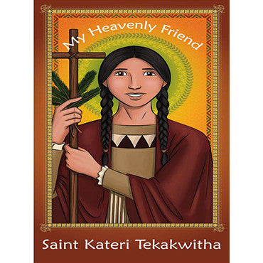 Prayer Card - Saint Kateri Tekakwitha