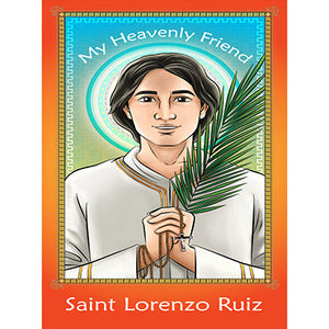 Prayer Card - Saint Lorenzo Ruiz (Pack of 25)