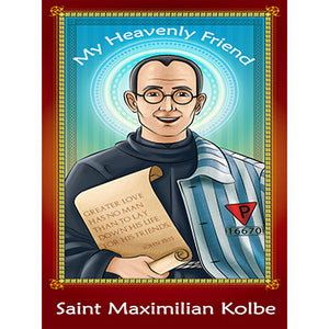 Prayer Card - Saint Maximilian Kolbe