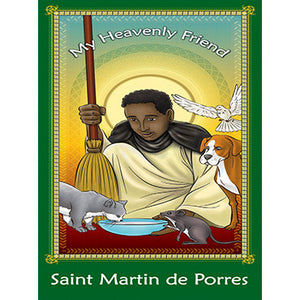 Prayer Card - Saint Martin de Porres