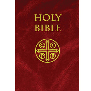 NABRE - New American Bible Revised Edition (Burgundy Hardcover): Standard Size - Burgundy Hard Cover