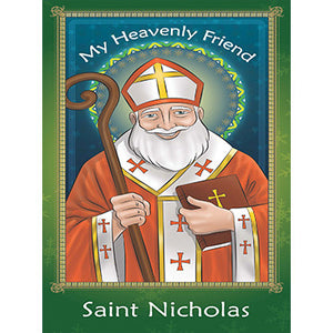 Prayer Card - Saint Nicholas (Pack of 25)