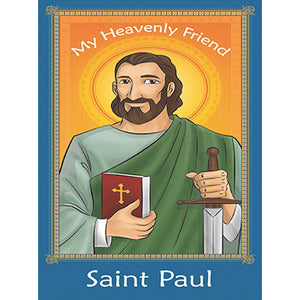 Prayer Card - Saint Paul