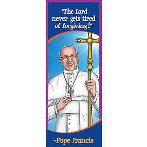 Bookmark - Pope Francis (Pack of 25)