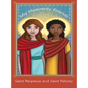 Prayer Card - Saints Perpetua & Felicity (Pack of 25)