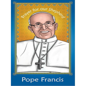 Prayer Card - Pope Francis (Pack of 25)