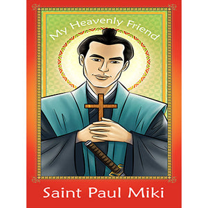 Prayer Card - Saint Paul Miki