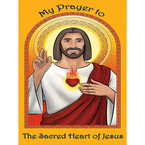 Prayer Card - Sacred Heart of Jesus (Pack of 25)