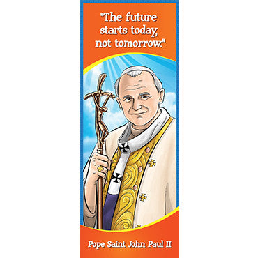 Bookmark - Pope St. John Paul II (Pack of 25)