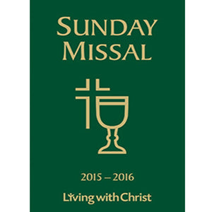 Sunday Missal Living with Christ 2015-2016