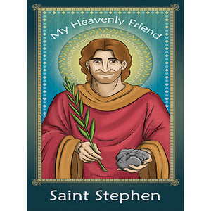 Prayer Card - Saint Stephen (Pack of 25)