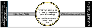 Stoney Creek Steve Weidenkopf Event Ticket