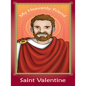 Prayer Card - Saint Valentine