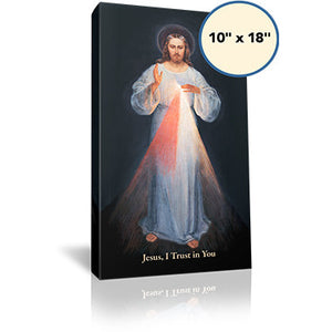Divine Mercy (Vilnius) - 10x18 - Gallery Wrapped