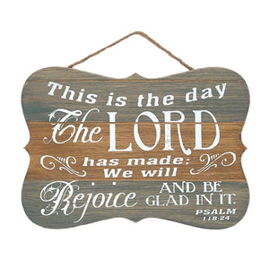 This Is The Day.. Wall Plaque
