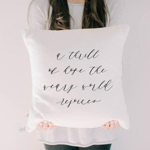 A Thrill of Hope Pillow