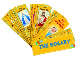 The Rosary Devotional Fan