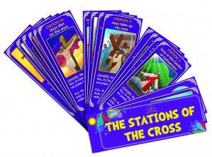 The Traditional Stations of the Cross Devotional Fan