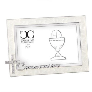 "4.75"" Communion Photo Frame"