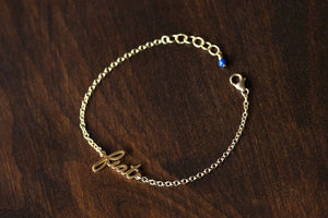 Fiat Bracelet (14k gold-plated/filled)