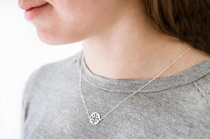 Jerusalem Cross Necklace (sterling silver)