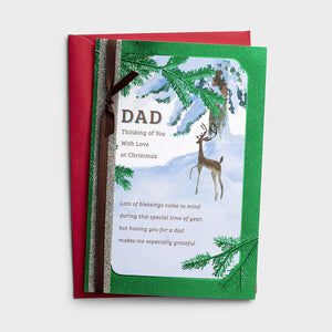 Christmas Card - Dad - J1201