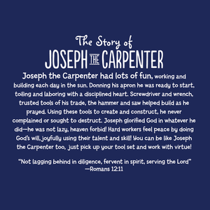 Joseph the Carpenter's Helper Tool Set + Work Apron